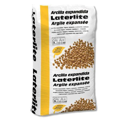 Argile Expansée Laterlite : granulats légers isolants, billes d'argile