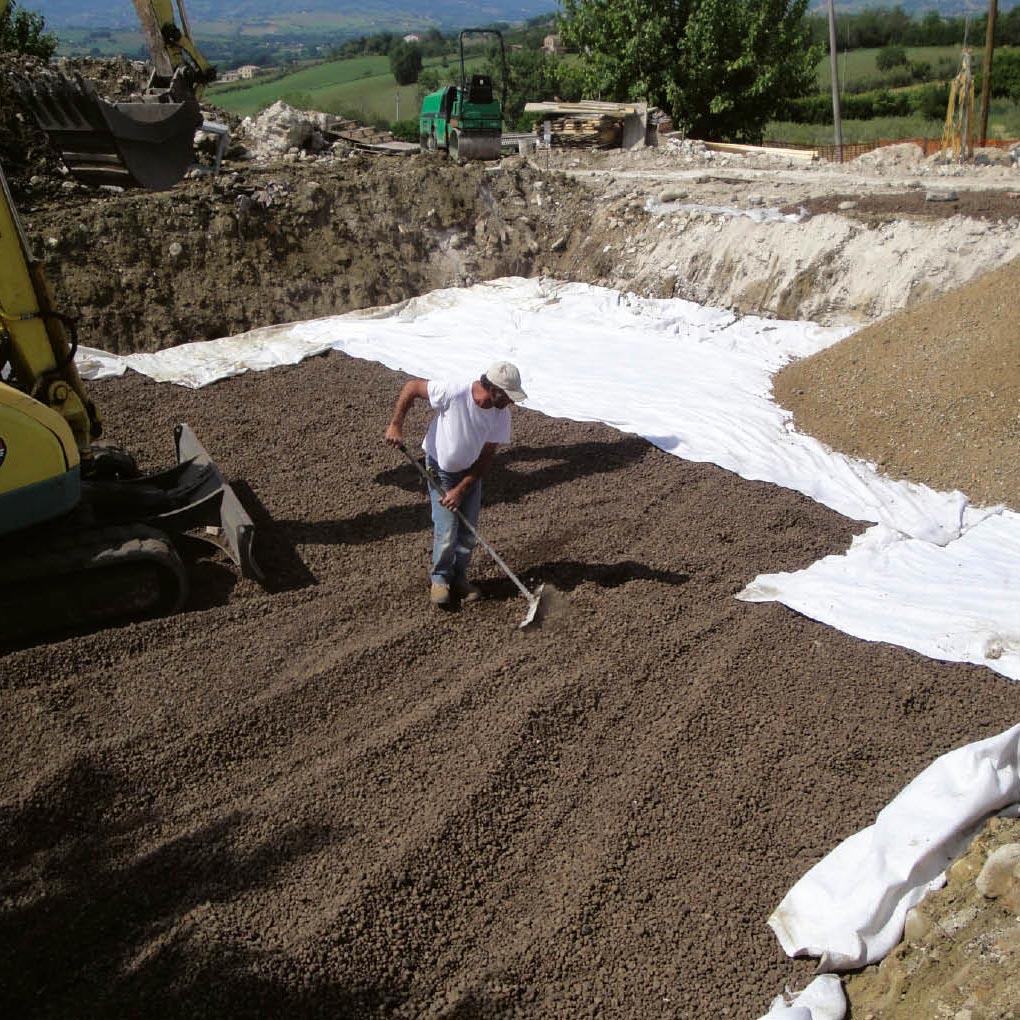 Fondation sur sol instable: fondation compensée
