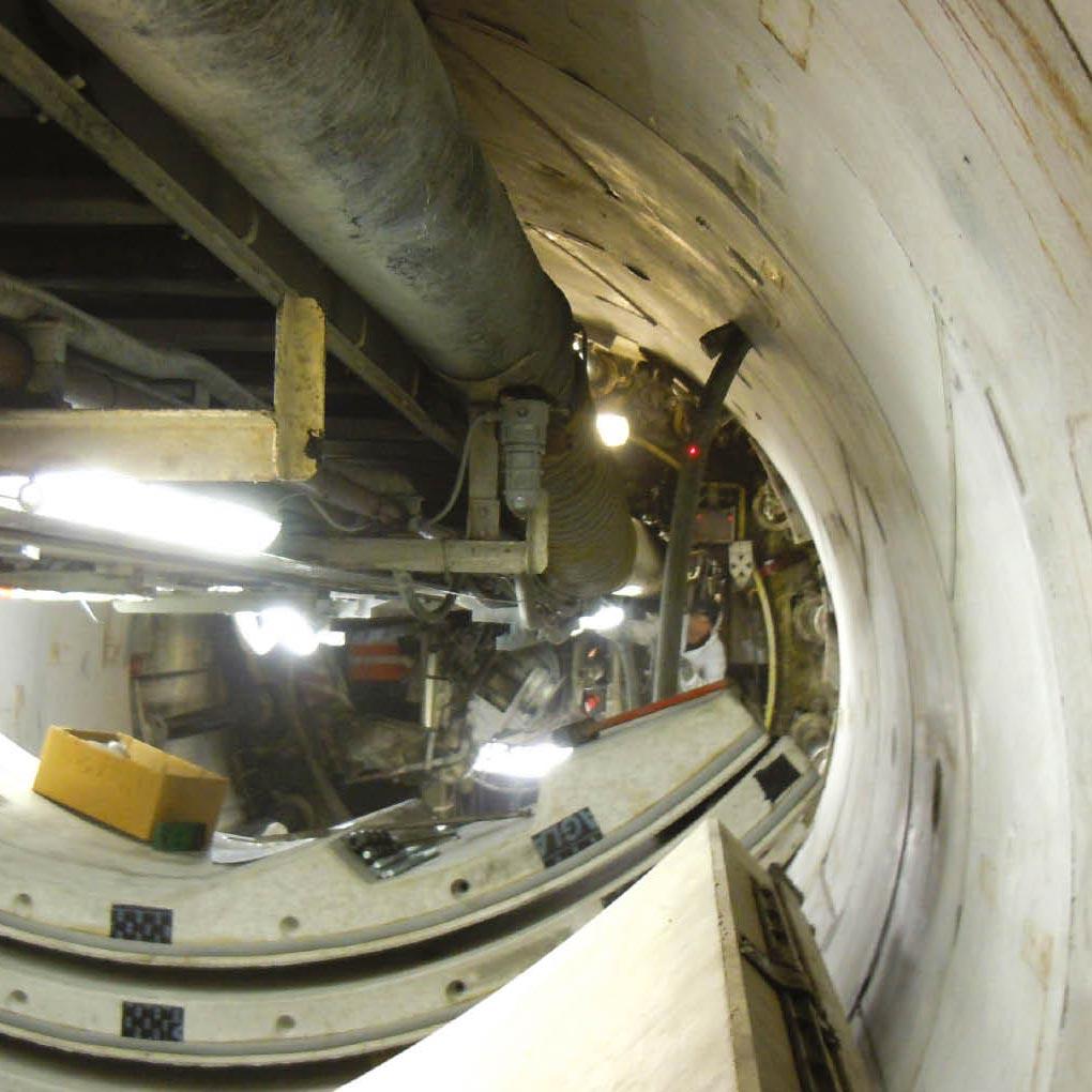 Creusements de tunnels: remplissage du vide annulaire derrière les voussoirs